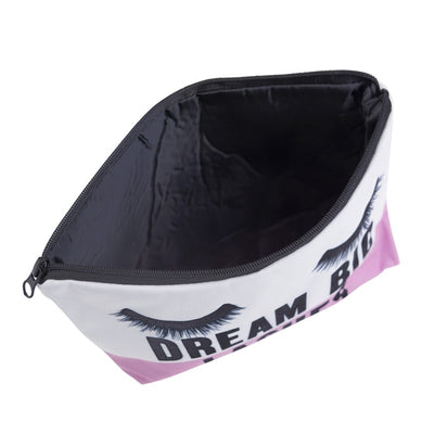 Dream Big Lashes Cosmetic Bag