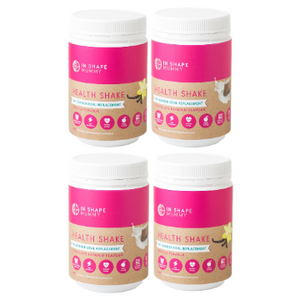 4 Pack -  In Shape Mummy Fat Burner Health Shakes - 80 Serves