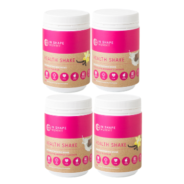 4 x In Shape Mummy Health Shakes for Breastfeeding Mums