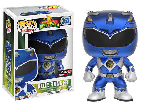 Power Rangers Funko Pop! Blue Ranger (Metallic)