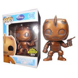 Disney Funko Pop! Rocketeer (Patina) #58