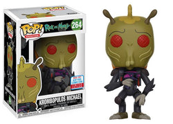 Rick and Morty Funko Pop! Krombopulous Michael (Shared Sticker) #264