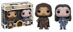 Lord of the Rings Funko Pop! Aragorn & Arwen (Convention Sticker) (2-Pack)