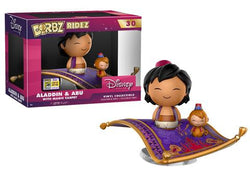 Aladdin Funko DORBZ Ridez Aladdin & Abu with Magic Carpet (Convention Sticker) #30