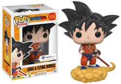 Dragon Ball Funko Pop! Goku & Flying Nimbus (Orange) #109