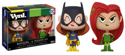 DC Super Heroes Funko VYNL Batgirl + Poison Ivy (Shared Sticker)