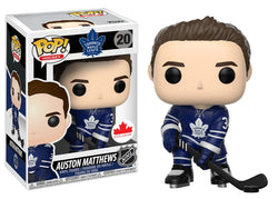 NHL Maple Leafs Funko Pop! Auston Matthews (Home Jersey) #20