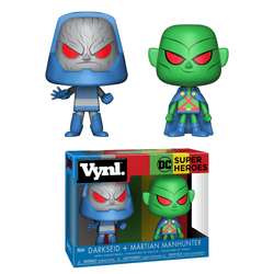 DC Superheroes Funko Vynl Darkseid + Martian Manhunter