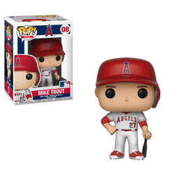 MLB Angels Funko Pop! Mike Trout (White Jersey) #08