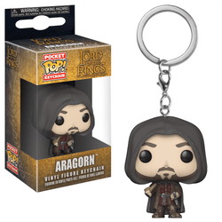 Lord of the Rings Funko  Pocket Pop! Keychain Aragorn