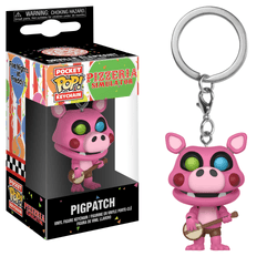 Five Nights at Freddy's Pizzeria Simulator Funko Pocket Pop! Keychain Pigpatch