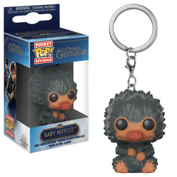 Crimes of Grindelwald Funko Pop! Keychain Baby Niffler (Grey)