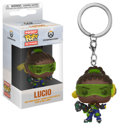 Overwatch Funko Pocket Pop! Keychain Lucio