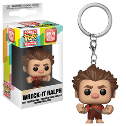 Ralph Breaks the Internet Funko Pocket Pop! Keychain Wreck-It Ralph