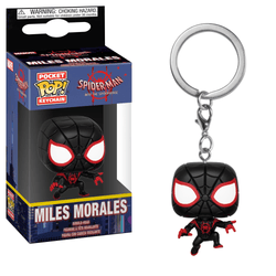 Spider-Man Into the Spiderverse Funko Pocket Pop! Keychain Miles Morales