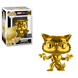 Marvel Studio Funko Pop! Rocket (Gold Chrome) #420