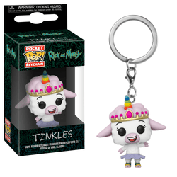Rick and Morty Funko Pocket Pop! Keychain Tinkles