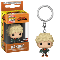My Hero Academia Funko Pocket Pop! Keychain Bakugo