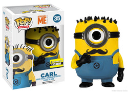 Despicable Me! Funko Pop! Carl (with Mustache) #35