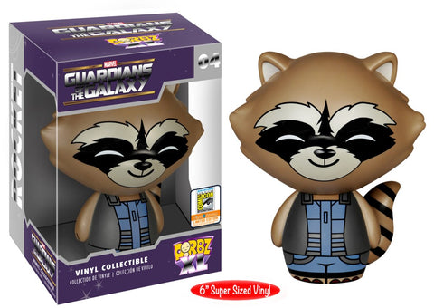 Guardians of the Galaxy DORBZ XL Rocket #04 6""