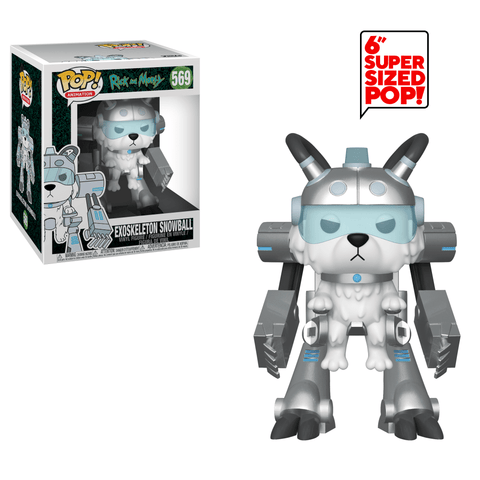 Rick and Morty Funko Pop! Exoskeleton Snowball #569