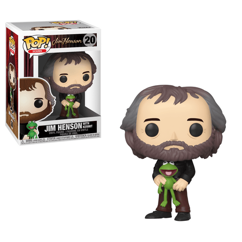 Icons Funko Pop! Jim Henson with Kermit the Frog #20