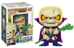 Masters of the Universe Funko Pop! Scare Glow (GITD) (Shared Sticker) #517