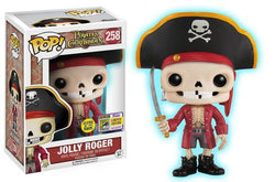Pirates of the Caribbean Funko Pop! Jolly Roger (GITD)