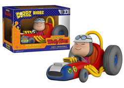 Hanna-Barbera Wacky Races Funko DORBZ Ridez Peter Perfect with Turbo Terrific (Shared Sticker) #33