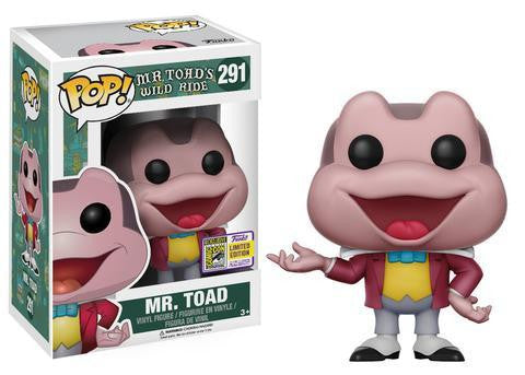 Mr. Toad's Wild Ride Funko Pop! Mr. Toad #291