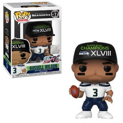 NFL Seahawks Funko Pop! Russell Wilson (Superbowl Champion Hat) #57