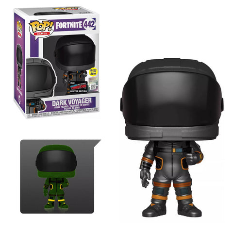 Fortnite Funko Pop! Dark Voyager (GITD) (Convention Sticker) #442