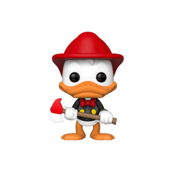 Disney Funko Pop! Donald Duck (Fireman) (Shared Sticker) #715