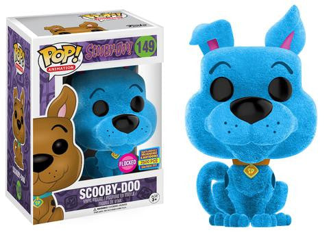 Scooby-Doo! Funko Pop! Scooby-Doo (Flocked) - Blue #149