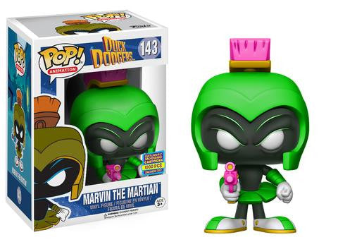 Duck Dodgers Funko Pop! Marvin the Martian (Neon Green) #143