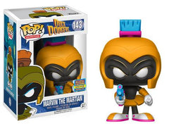 Duck Dodgers Funko Pop! Marvin the Martian (Orange) #143