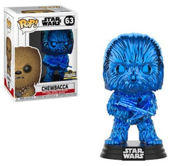 Star Wars Funko Pop! Chewbacca (Blue Chrome) #63