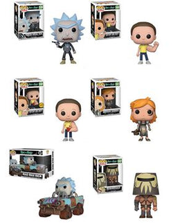Rick and Morty Funko Pop! Complete Wave 3 Set of 6 (Pre-Order)