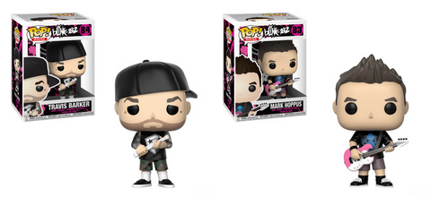 Blink-182 Funko Pop! Complete Set of 2 (Pre-Order)