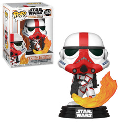 Star Wars: The Mandalorian Funko Pop! Incinerator Stormtrooper #350