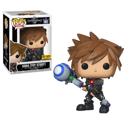 Kingdom Hearts 3 Funko Pop Sora Toy Story Big Apple Collectibles