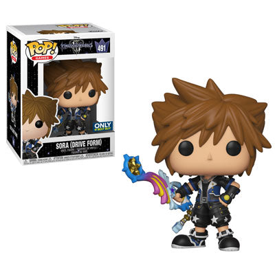 Kingdom Hearts 3 Funko Pop! Sora (Drive Form) #491