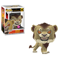 The Lion King Funko Pop! Scar (Live Action) (Flocked) #548 (Pre-Order)