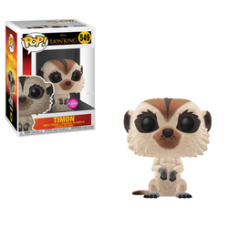 The Lion King Funko Pop! Timon (Live Action) (Flocked) #549 (Pre-Order)