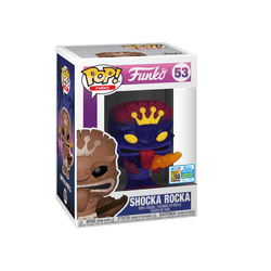 Spastik Plastik Funko Pop! Shocka Rocka (Purple) #53