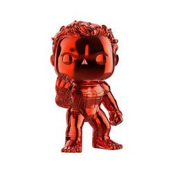 Avengers Endgame Funko Pop! Hulk (Infinity Gauntlet) (Red Chrome) 6in (Pre-Order)