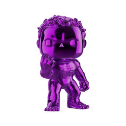 Avengers Endgame Funko Pop! Hulk (Infinity Gauntlet) (Purple Chrome) 6in (Pre-Order)