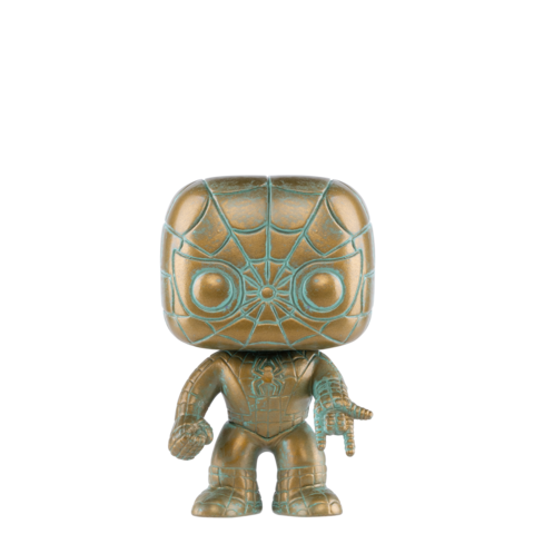 Marvel Funko Pop! Spider-Man (Patina) (Pre-Order)