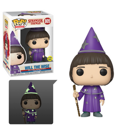 Stranger Things Funko Pop! Will The Wise (GITD) #805