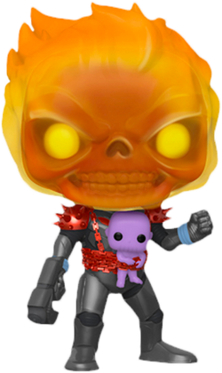 Marvel Funko Pop! Cosmic Ghost Rider (with Baby Thanos) (Pre-Order)